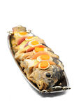 Gefilte fish Royalty Free Stock Photo