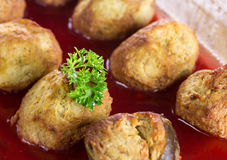 Gefilte fish Stock Image