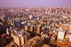 Gefiltreerd Tokyo Royalty-vrije Stock Afbeelding
