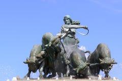 Gefion喷泉 免版税库存图片