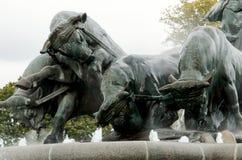 Gefion喷泉 免版税库存照片