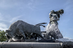 Gefion Fountain Stock Images