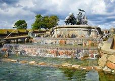 The Gefion Fountain, Copenhagen. Stock Image