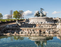 Gefion Fountain Royalty Free Stock Photo