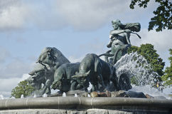 Gefion Fountain Stock Photography