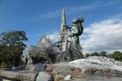 Gefion Fountain Royalty Free Stock Photo