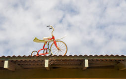 Geflügeltes Dreirad stockfoto