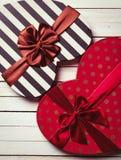 Geformte Geschenke des Inneren Lizenzfreie Stockfotos