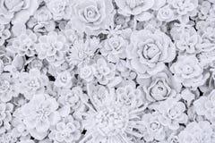 Geformte keramische Figürchen der Blume lizenzfreies stockfoto