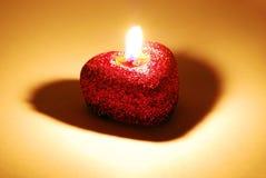 Geformte Kerze des Inneren Lizenzfreie Stockbilder