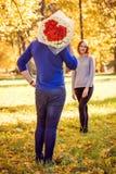 Geformter Blumenstrauß des Herzens stockfotografie