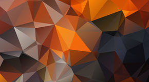 Geformter Hintergrund des Contrasty Dreiecks Lizenzfreies Stockbild
