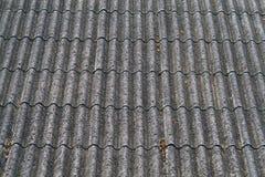 Geformtes Dach der Welle Stockfotografie