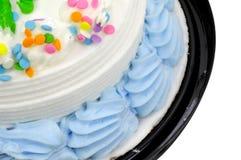 Gefrieren auf einem Kuchen Stockbilder