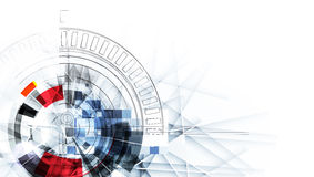 Gefrieren Sie abstrakten Technologiehintergrund mit Linien Beschaffenheit von für Stockfotografie