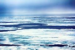 Gefrieren Sie nahe dem Nordpol 83-84 Grad im Jahre 2016 Lizenzfreies Stockbild