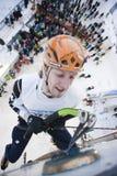 Gefrieren Sie steigende Weltmeisterschaft 2011 Stockfoto