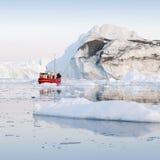 Gefriert und Eisberge von Polarregionen von Erde Lizenzfreies Stockfoto