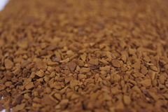 Gefriertrockneter Kaffee Lizenzfreie Stockbilder