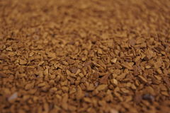 Gefriertrockneter Kaffee Stockfotografie