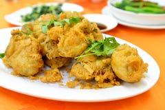 Gefrituurde oester Stock Fotografie