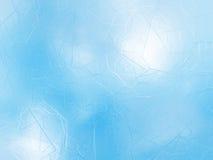 Gefrorene abstrakte Winterglasbeschaffenheit Stockbild