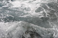 Gefrorene Bewegung des Wassers Stockfotografie