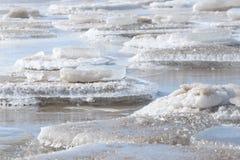 Gefrorene, eisige Ostseeküste 4 lizenzfreies stockfoto