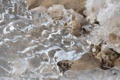 Gefrorene, eisige Ostseeküste 7 stockfoto