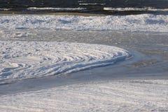 Gefrorene, eisige Ostseeküste 9 lizenzfreie stockbilder