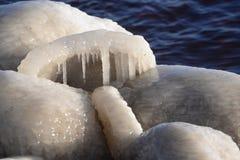 Gefrorene, eisige Ostseeküste 28 lizenzfreie stockfotos