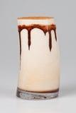 Gefrorene Gesichtscreme der Schokolade Lizenzfreies Stockbild