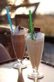 Gefrorene Kaffee Stockbilder