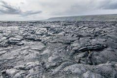Gefrorene Lava Lizenzfreie Stockbilder