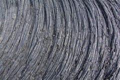 Gefrorene Lava Stockfoto