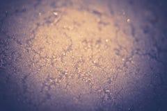 Gefrorene Metalloberfläche gefiltert Lizenzfreies Stockfoto