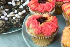 Gefrorene Schalen-Kuchen (2) Stockfotos