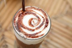 Gefrorene Schokolade lizenzfreie stockfotos