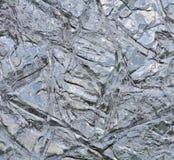 Gefrorene Seeoberfläche am Winter Stockbilder
