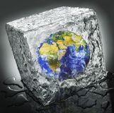 Gefrorene Welt Lizenzfreie Stockfotos