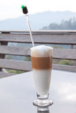Gefrorener Kaffee lizenzfreies stockbild