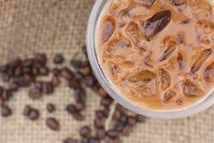 Gefrorener Kaffee lizenzfreies stockfoto
