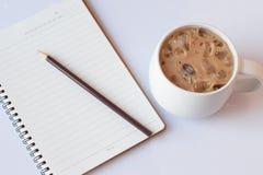 Gefrorener Kaffee Lizenzfreie Stockfotografie