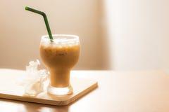 Gefrorener Kaffee Stockbilder