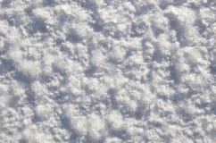 Gefrorener Schnee Stockfotos