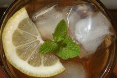 Gefrorener Tee Stockfotos