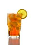 Gefrorener Tee und Zitrone stockfotos