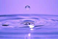 Gefrorener Wasser-Tropfen Stockbilder