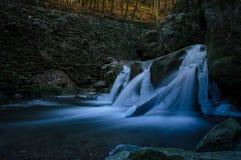 Gefrorener Wasserfall Lizenzfreies Stockbild