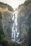 Gefrorener Wasserfall in Japan Lizenzfreie Stockbilder